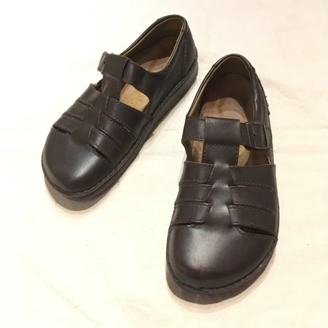 """FOOTPRIUTS """"BIRKENSTOCK""""・RUGGED EARTH OUTFITTERS・UNKNOWN"""